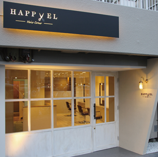 HAPPYEL hair crew