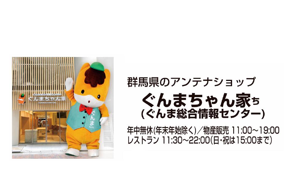 ぐんまちゃん家(ぐんま総合情報センター)