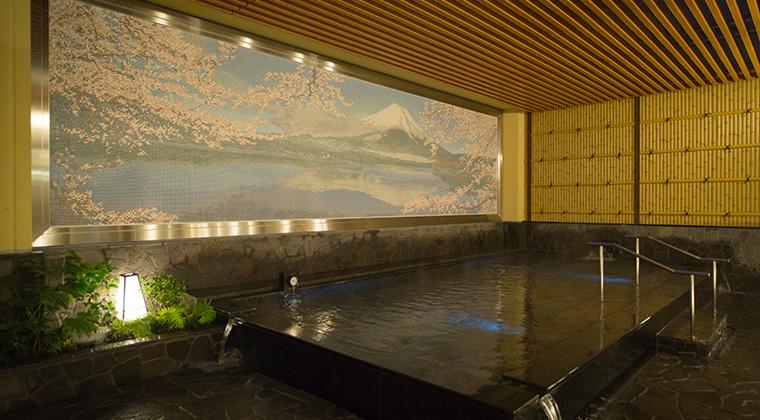 東京新宿天然温泉テルマー湯