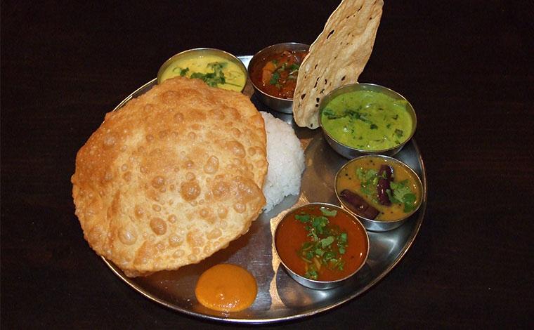 『ダバ インディア』(南インド料理)