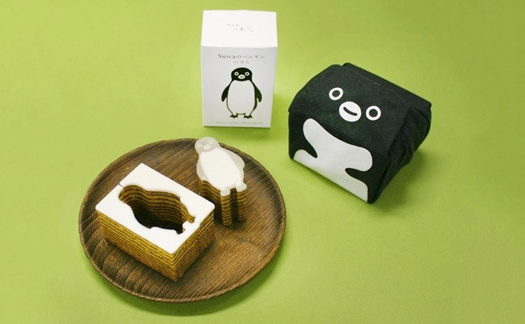 『まめぐい』の「suicaのペンギンバウム」